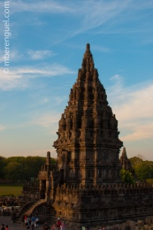 One of the Temples of Prambanan