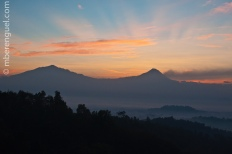 Sunrise Before Borobudur
