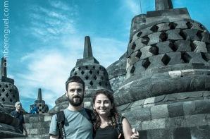 Us in Borobudur