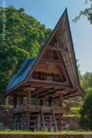 Batak House in Lake Toba