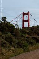 Golden Gate Bridge still hiding