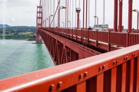 Golden Gate Bridge's metal