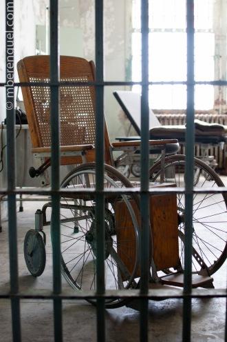 Alcatraz's Wheelchair