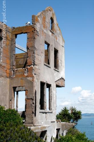 Building in Alcatraz