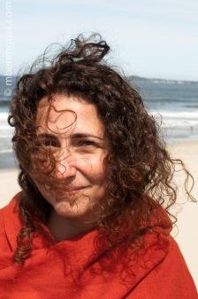 Susanna in the beach